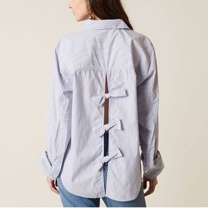 Free People Tie It In A Bow Top NWT
